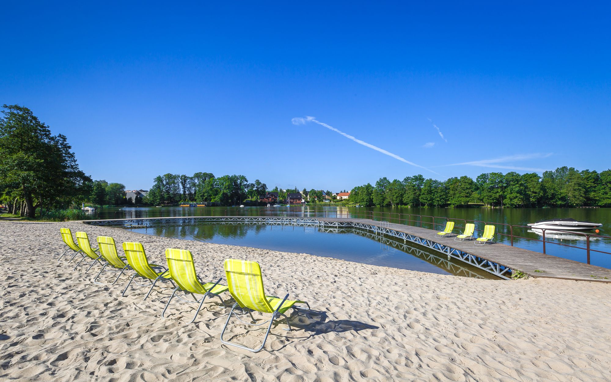 Prywatna plaża